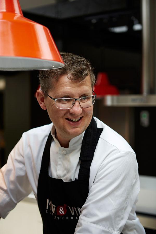 Peter Skogström in action