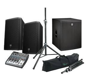 Ljudpaket 2 , hyra högtalare till fest