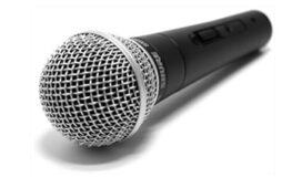 Mikrofon (tal & sång)