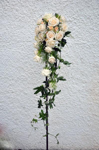Blomsterfabriken, vackra brudbuketter till bröllopet