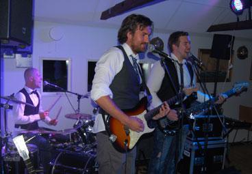 Barry Halls Band, Partyband till bröllop och fest i skåne