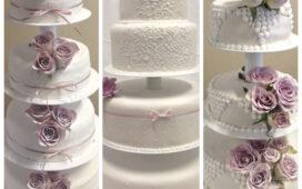 Vackra och goda Bröllopstårtor