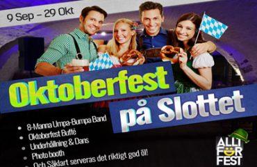 Oktoberfest på Malmöhus Slott i Malmö 2016