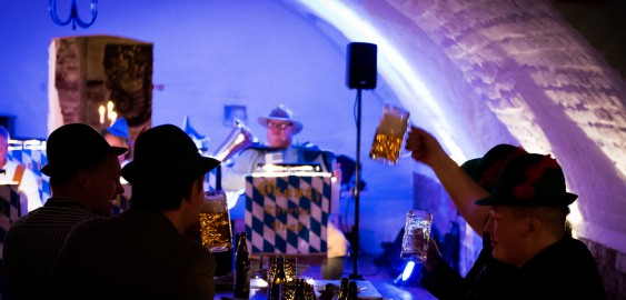 Tyrolband, umpa-umpa på oktoberfest i Malmö